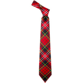 Macpherson Clan Modern  Tartan Tie