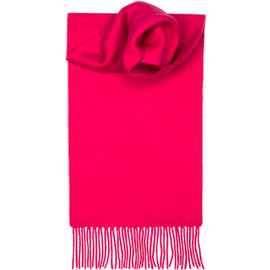 Pink Lambswool Scarf