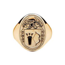 Men's Irish Coat of Arms Ring