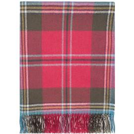 Maclean Of Duart Weathered Lambswool Blanket