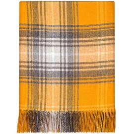 Lochcarron Gorse Lambswool Blanket