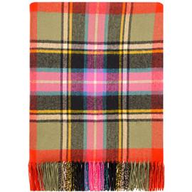 Bruce Of Kinnaird Ancient Lambswool Blanket