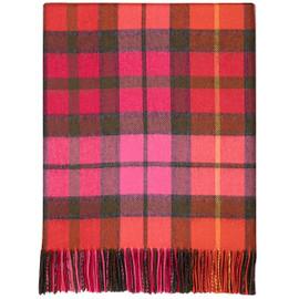 Buchanan Rose Lambswool Blanket