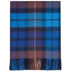 Buchanan Blue Lambswool Blanket