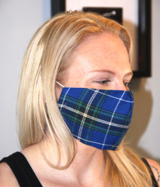 Tartan Face Masks + 10 Filters!