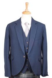 Navy Blue Arrochar Tweed Crail