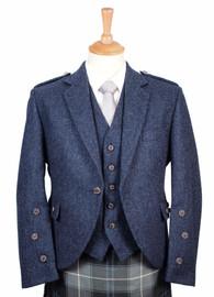 Lomond Blue Tweed Jacket and Vest
