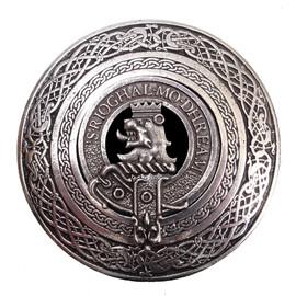 C-BBCI03 Clan Crest Buckle (MacGregor) Pewter
