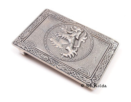 C-BBLI01 All in One Lion Buckle Antique Silver
