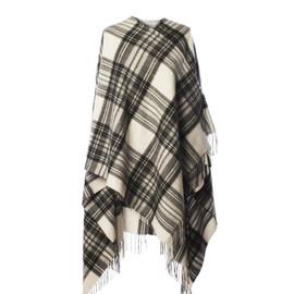 Stewart Grey Dress Lambswool Cape