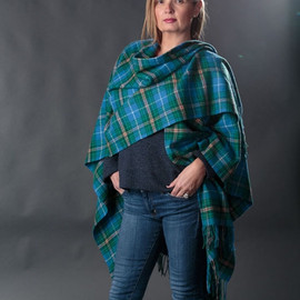 Nova Scotia Lambswool Cape