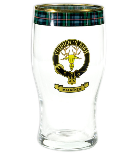 Clan Pint Glass