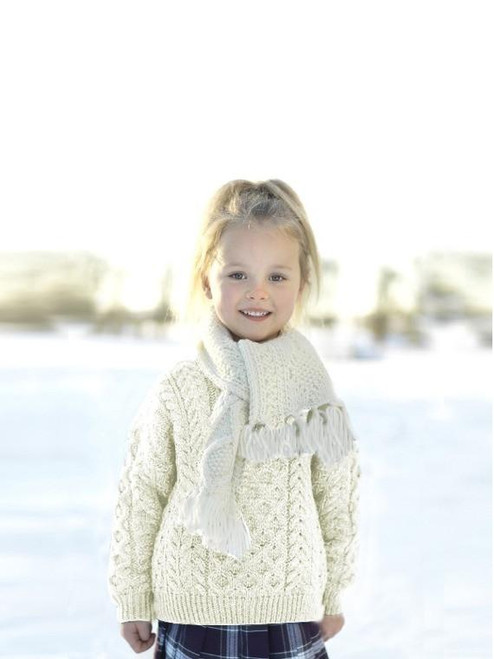Children's Aran Sweater