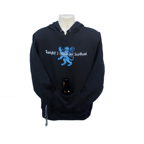 """Tonight I Drink for Scotland"" Hoodie"