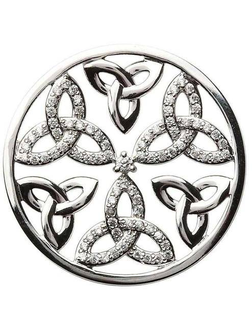 Trinity Knot Coin Insert for Tara's Diary Necklace
