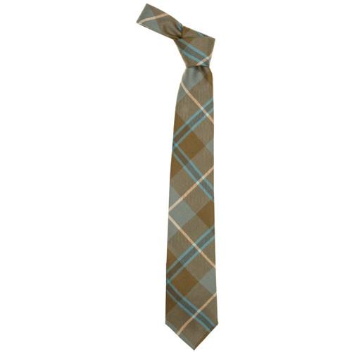 Douglas Weathered Scottish Tartan Plaid Tie For Men | 100% Worsted Wool | Made in Scotland