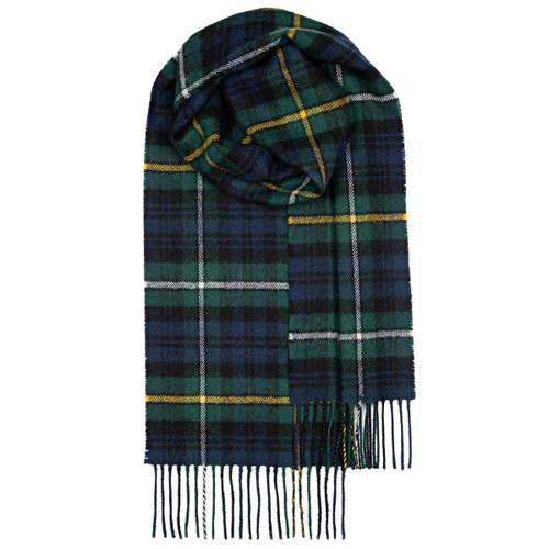 Campbell Of Argyle Modern Lambswool Scarf