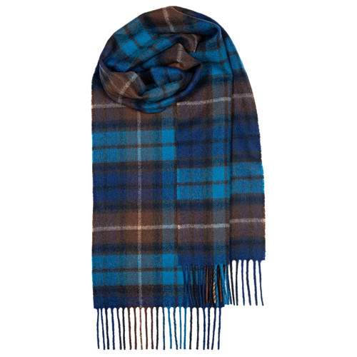 Buchanan Blue Lambswool Scarf