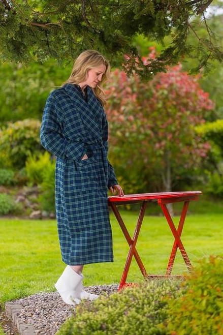 Long Flannel Nightrobe