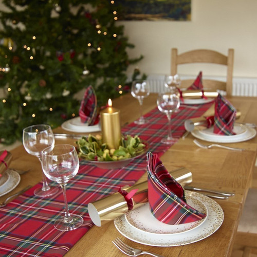Tartan Table Runner
