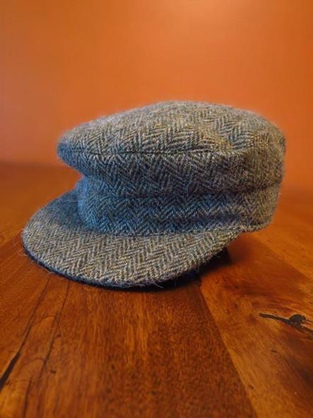 Donegal Tweed Skipper Hat