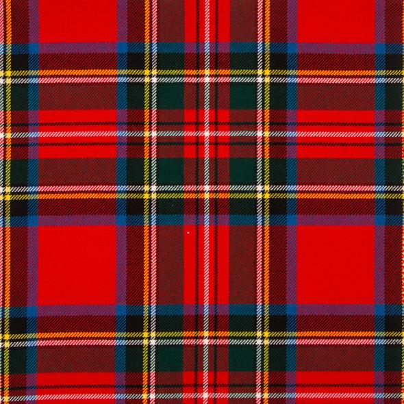 Stewart Royal Modern Tartan Fabric Material Medium Weight