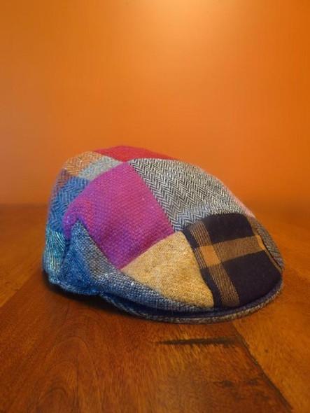 Children's Tweed Patchwork Cap