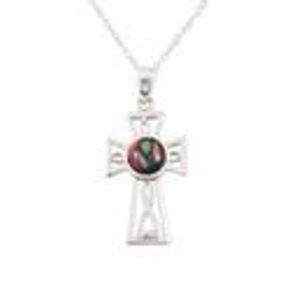 Heathergem Twisted Celtic Cross Pendant