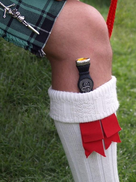 Clan Crested Sgian Dubh
