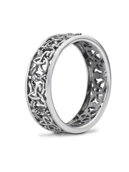 Outlander Inspired Silver Ring