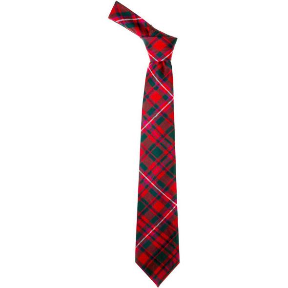 Mackinnon Red Modern  Tartan Tie