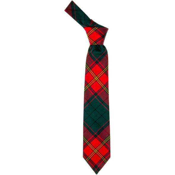 Ulster Red  Tartan Tie