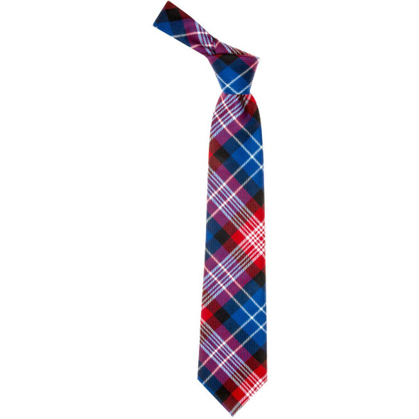 United States St Andrews Red  Tartan Tie