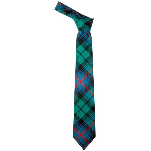 Urquhart Broad Red Ancient  Tartan Tie