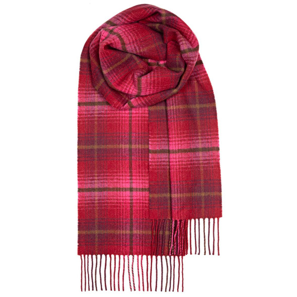 Lauriston Check Lambswool Scarf