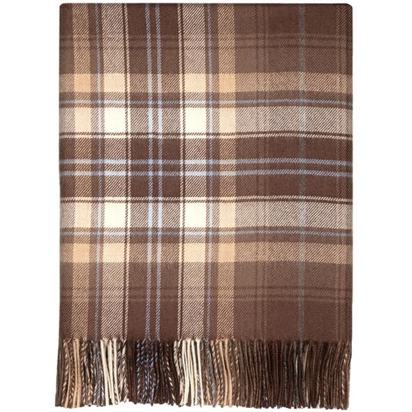 Mcvitie Check Lambswool Blanket