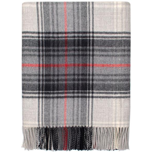 Lochcarron Graphite Lambswool Blanket