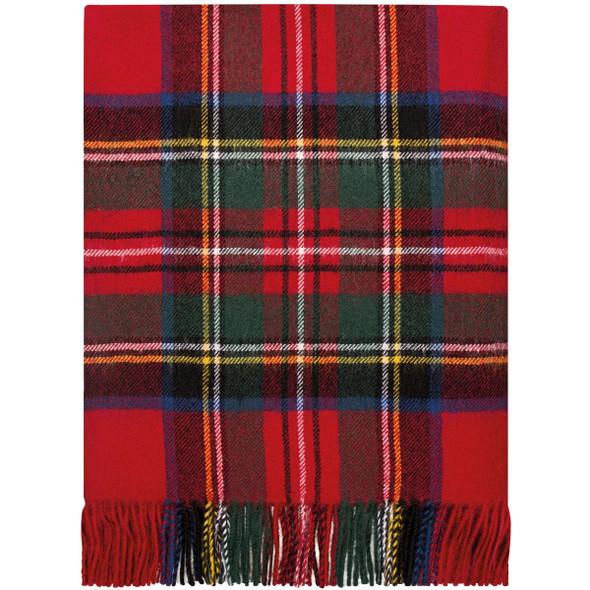 Stewart Royal Mod Lambswool Blanket