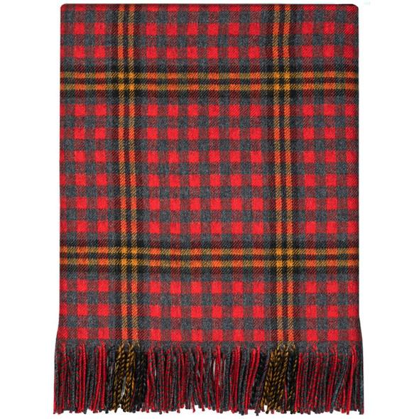 Red Rose Lambswool Blanket