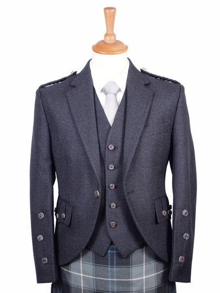Charcoal Arrochar Jacket and Vest