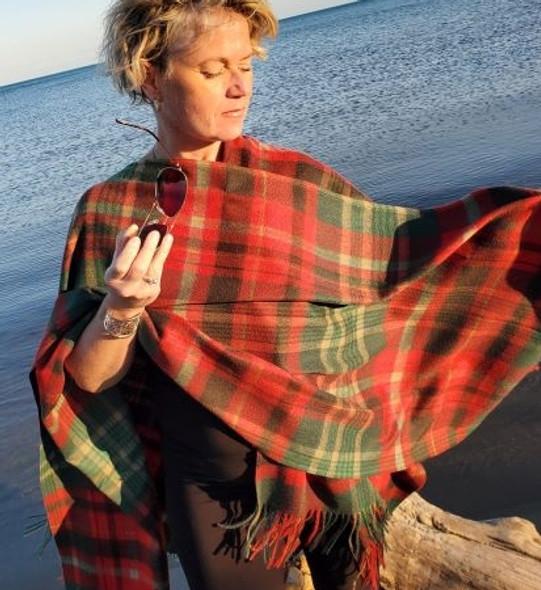 New Brunswick Lambswool Cape