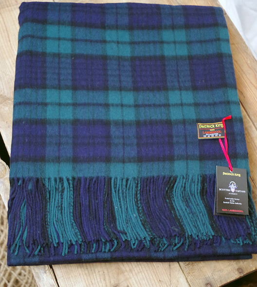 Black Watch Lambswool Blanket