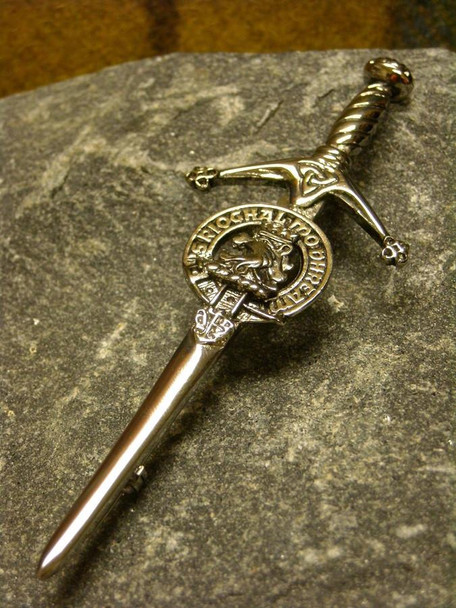 Clan Crested Kilt Pin