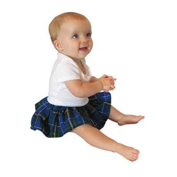 Baby Kilted Onesie short sleeve