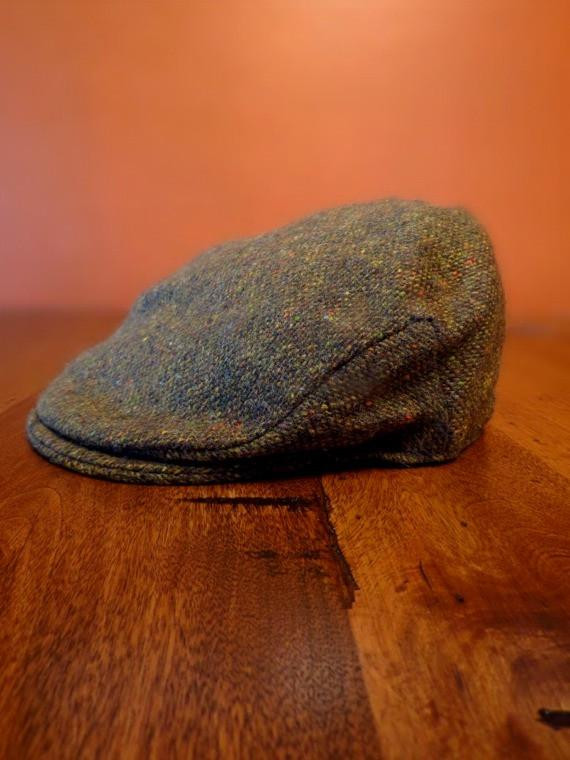 Donegal Tweed Vintage Cap