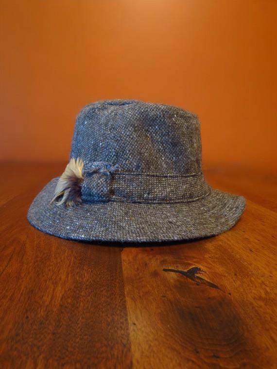 Donegal Tweed Walking Hat