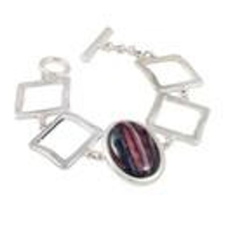 Heathergems Plated Bracelet