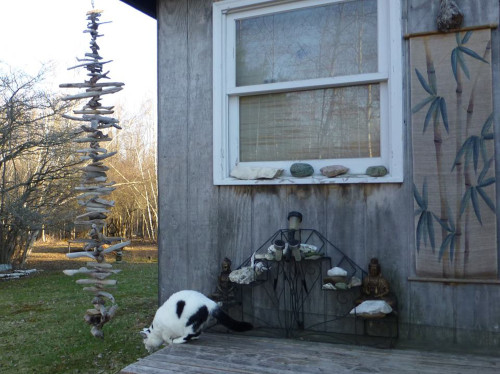 Driftwood Rainchain Summer