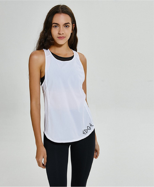 EDGE Relax: black or white tank top