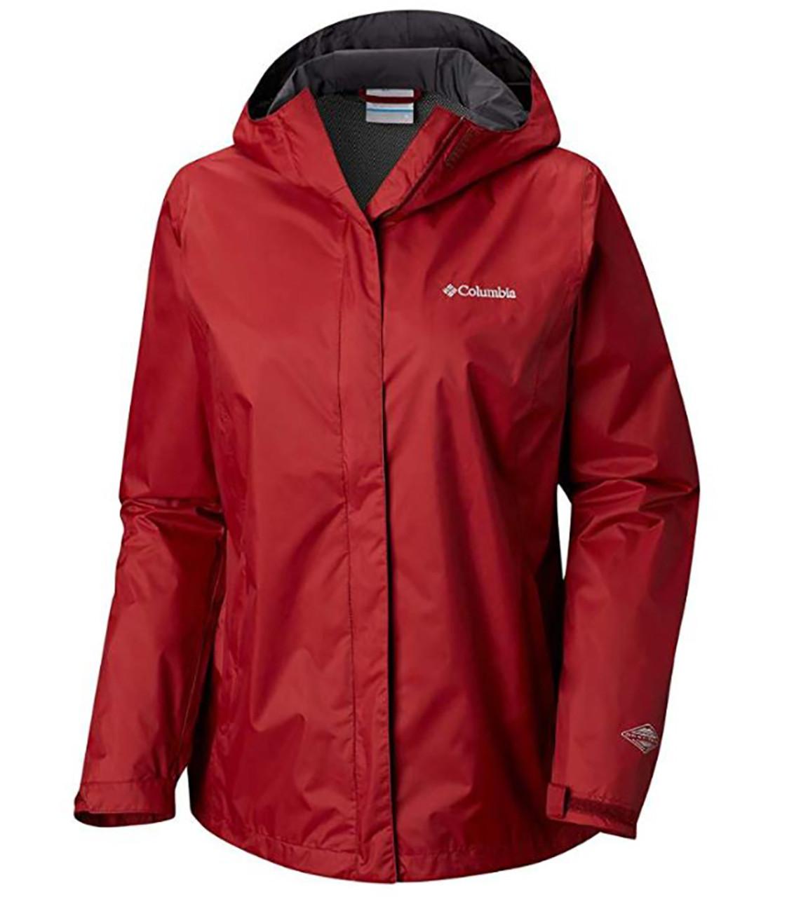 Women's Arcadia II Rain Jacket Garnet Red
